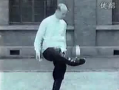 Chinese footbag kicker in 1937