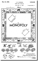 Charles Darrow Monopoly Patent