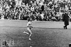 Michael O'Brien streaking at rugby match