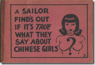 A sailor finds out if its true what they say about Chinese girls