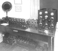 Early 1920's Amateur radio station