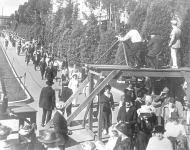 Filming in 1922