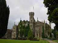 Oakley Court where Rocky Horror Picture Show was filmed